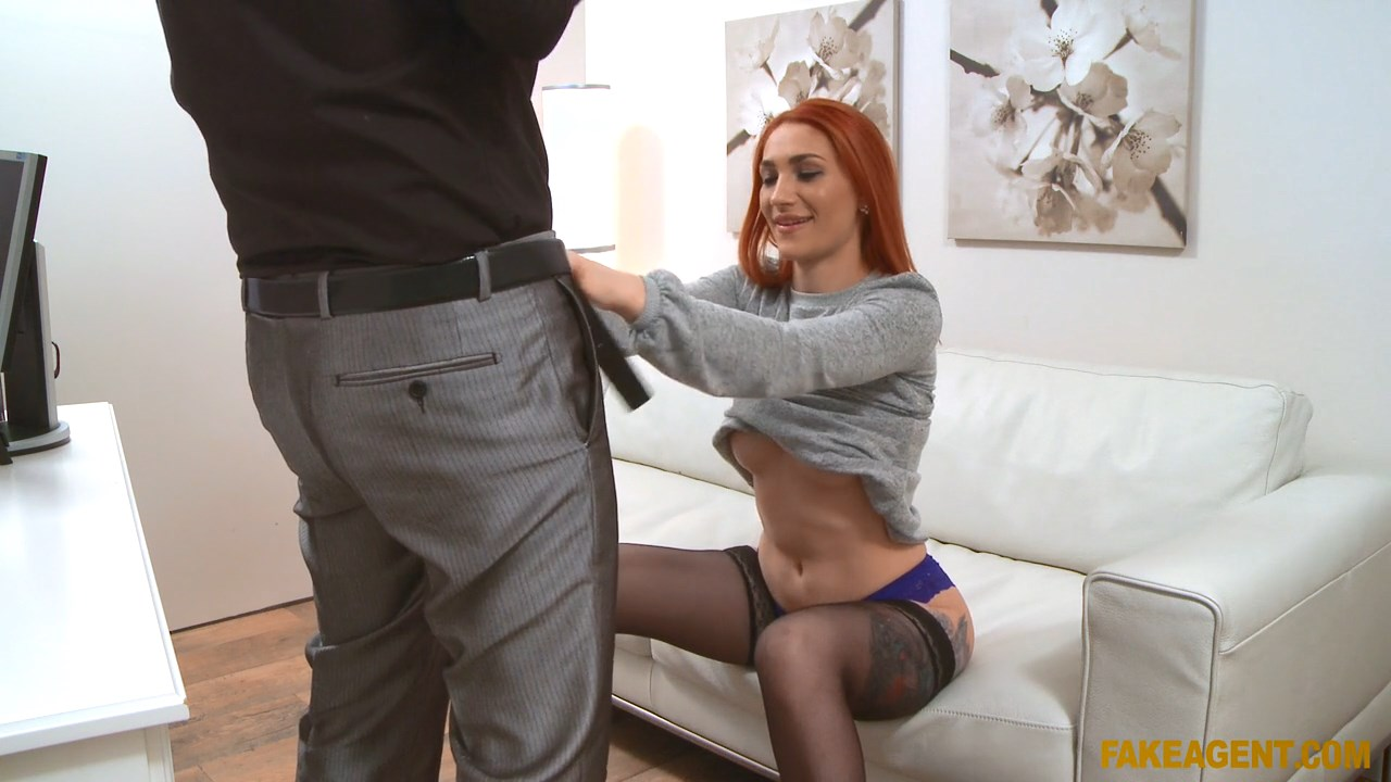 Redhead Prefers Cock Over Pussy