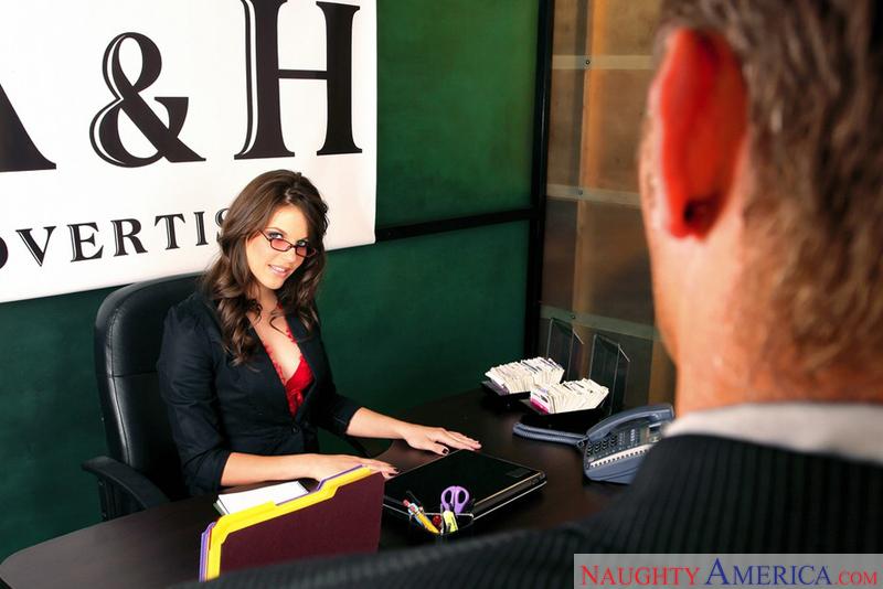 Naughty Office - Bobbi Starr & M