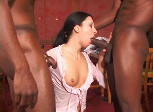 18 Year Olds Love Black Cock #02