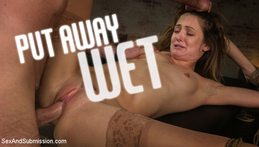 Put Away Wet: Zoe Sparx Squirts