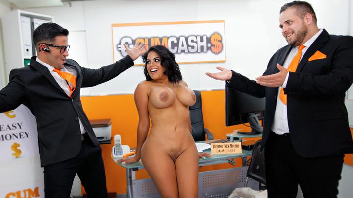 Kesha applies for a Cumcash loan