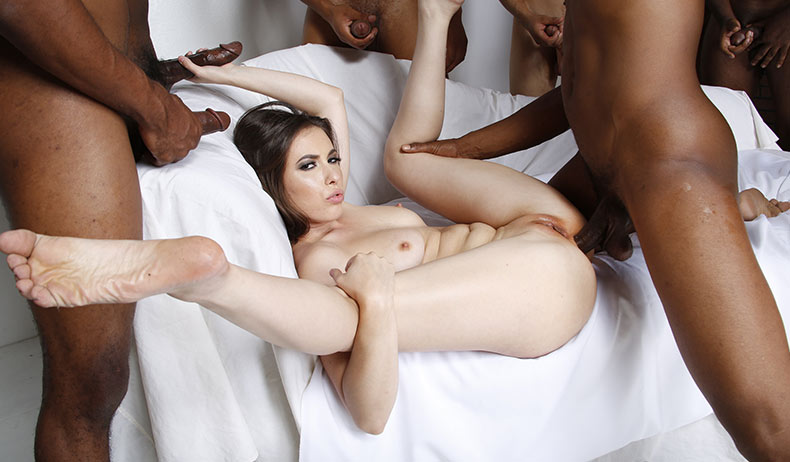 Blacks On Blondes - Casey Calvert Scène 1