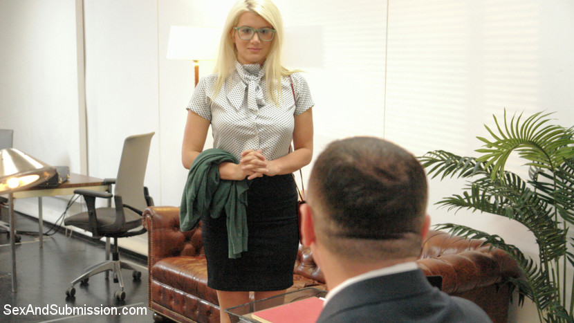 Submissive Secretary Does Double