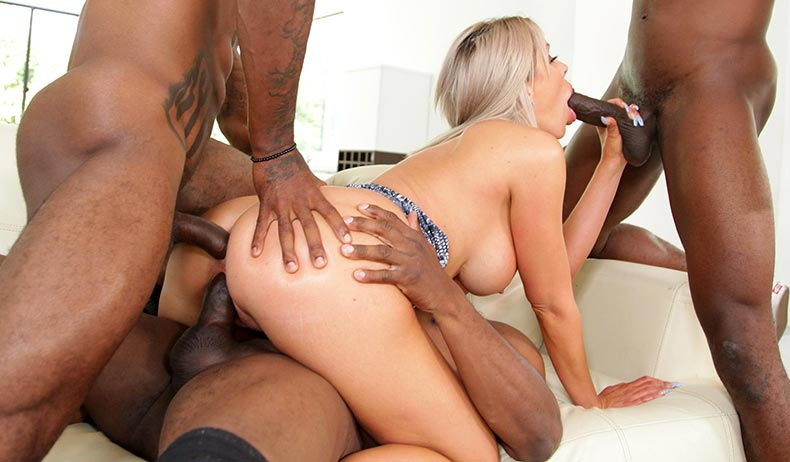 Blacks On Cougars - Nina Elle