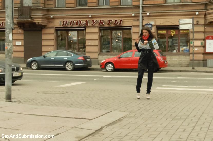 Helpless in Russia: Rough Sex Fa