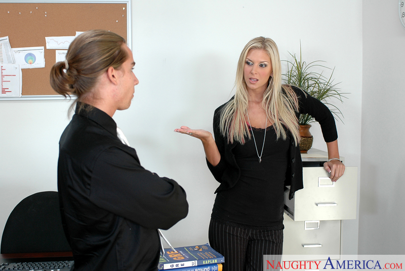 Naughty Office - Brooke Brand &