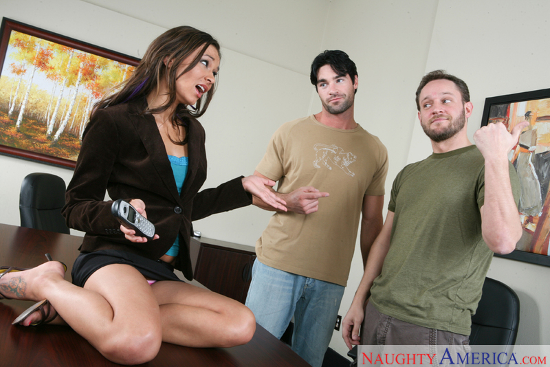 Naughty Office - Crissy Moon & A