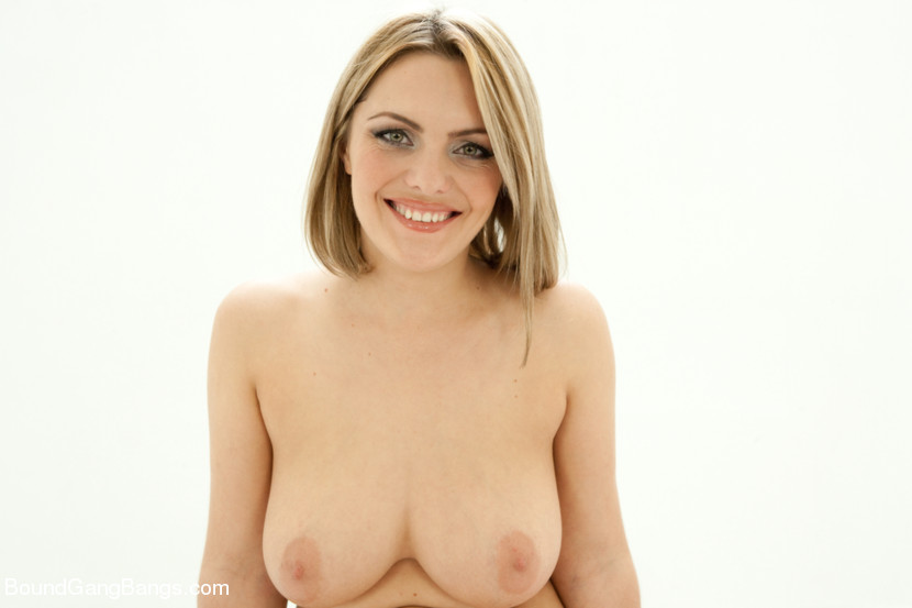 Busty blond Fantasizes of Being
