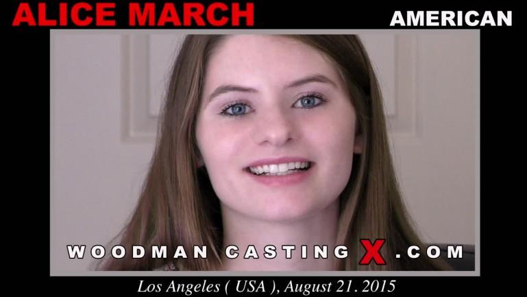 Alice March casting