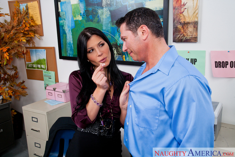 Naughty Office - Rebeca Linares