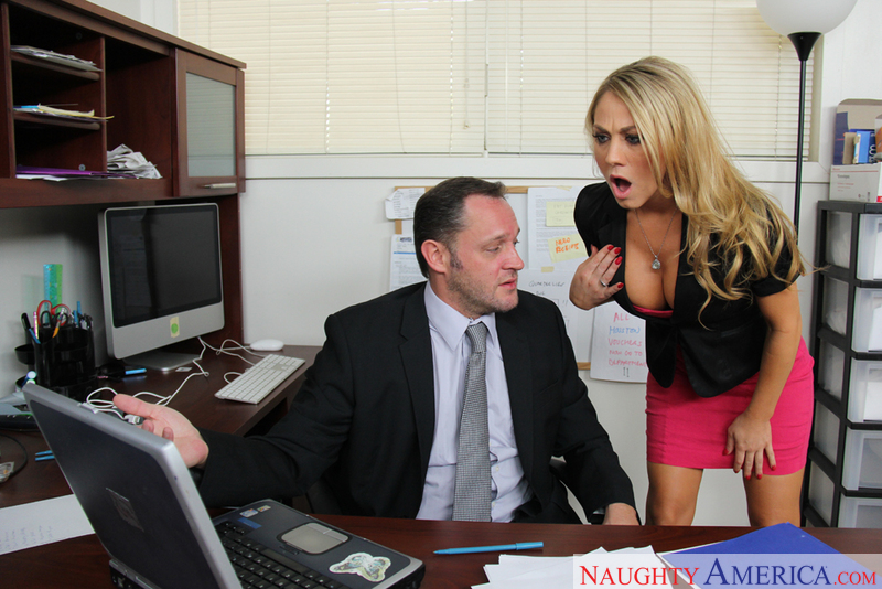 Naughty Office - Amber Ashlee &