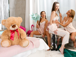 Naughty Slumber Party: Comparing