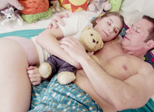 Dominant Step-Daddy Puts Alice T