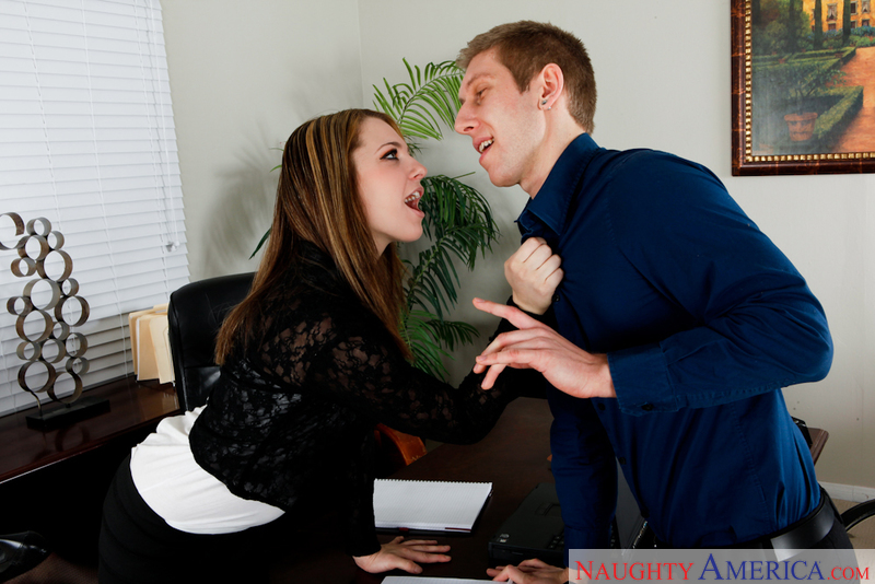 Naughty Office - Bailey Blue & D