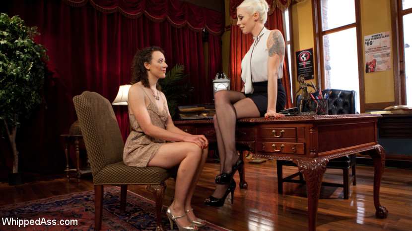 Lesbian Professor Seduces and Do