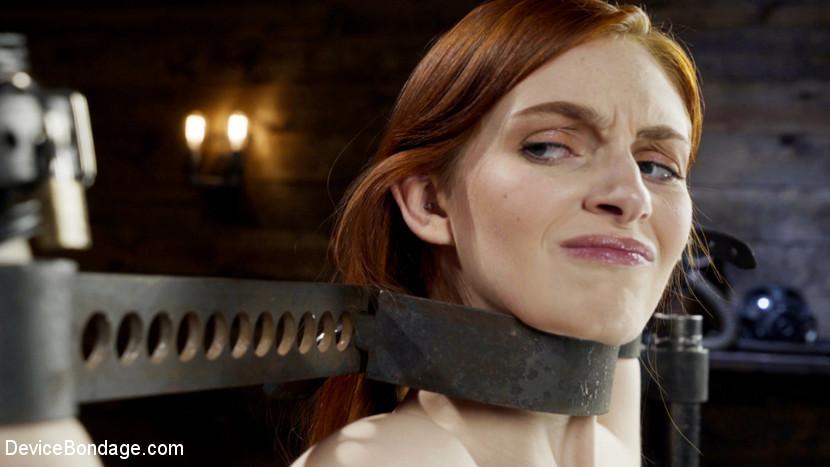 Red Head Slut Gets Destroyed in