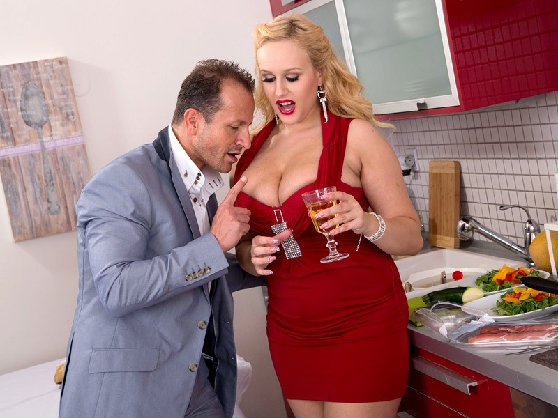 Hot Kitchen Sex