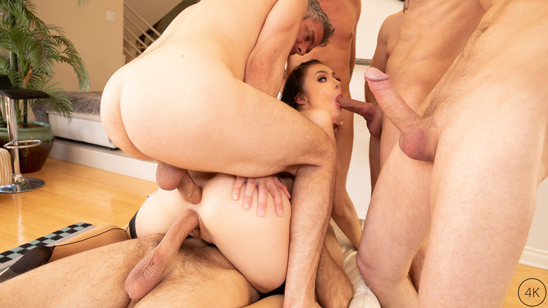 The Gangbang Of Marley Brinx Por