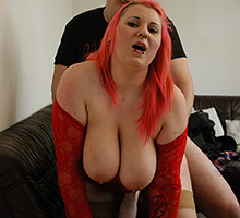 Naughty wife loves to be watched