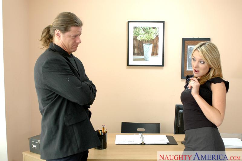 Naughty Office - Alex Sanders &