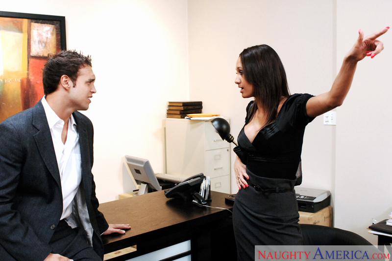 Naughty Office - Halia Hill & Ro