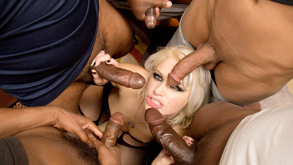 Anikka Albrite Big Black Cocks D