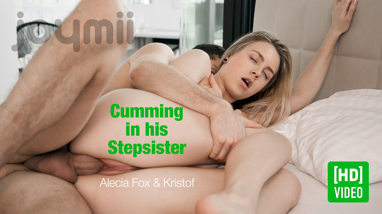 Cumming in his Stepsister