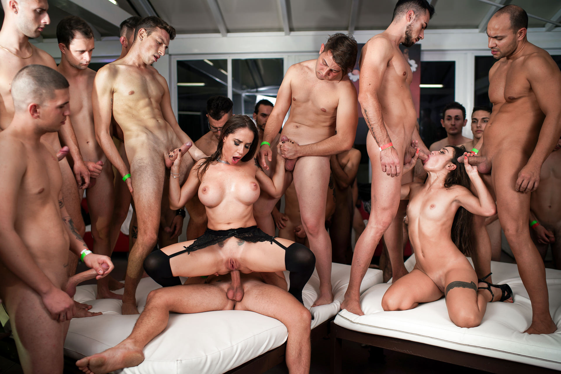 Rocco's 69 Dicks Gang Bang Chall