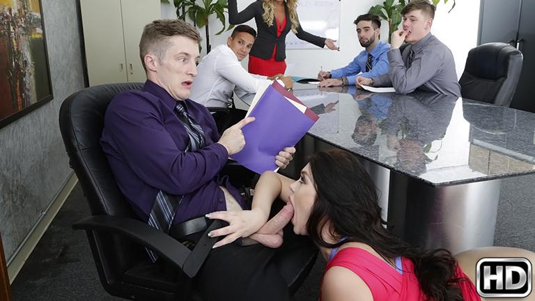 Office Fling Scène 1