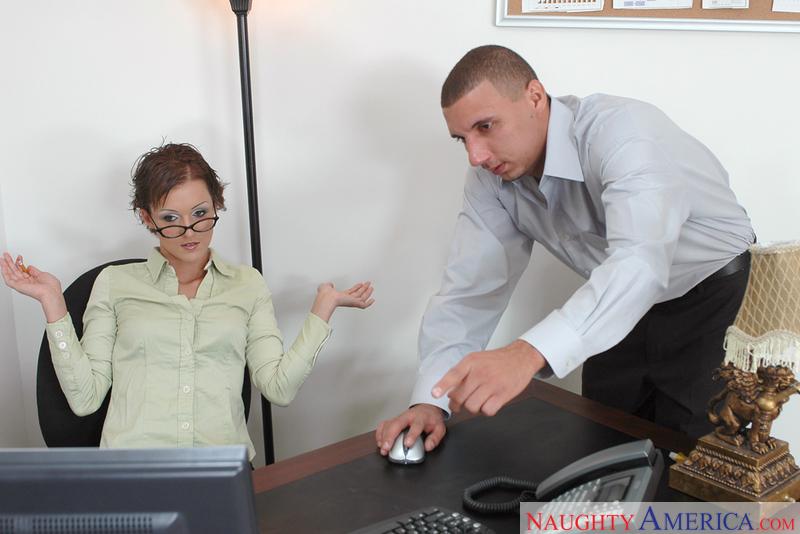 Naughty Office - Sara Faye & Ton