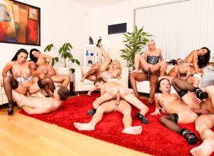 Bachelor Party Orgy #02 Scène 2