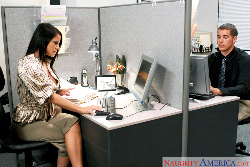 Naughty Office - Savannah Stern