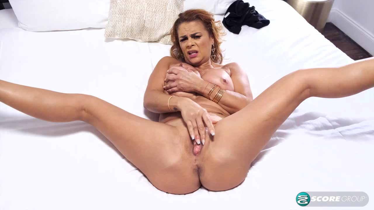 Latina MILF's tits, ass and puss