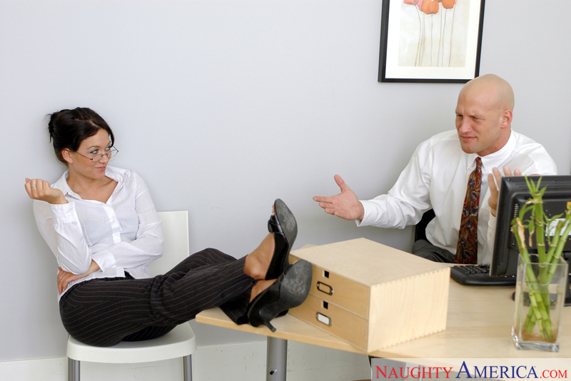 Naughty Office - Renee Richards