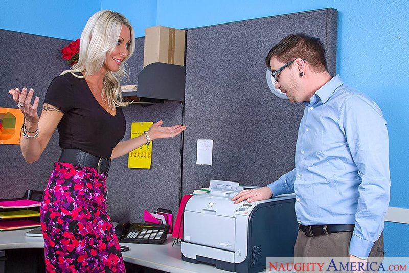 Naughty Office - Emma Starr & Da