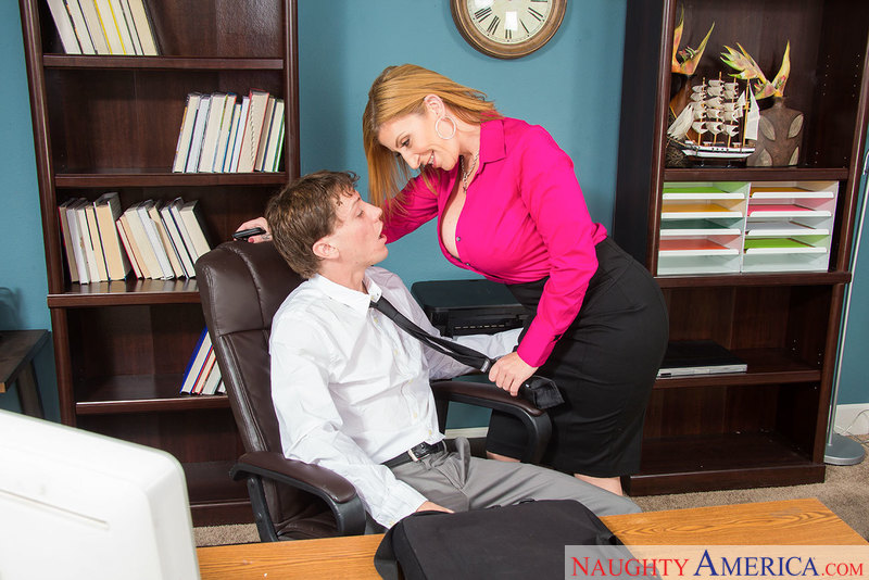 Naughty Office - Sara Jay & Rion