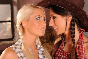 Naughty cowgirls Scène 1