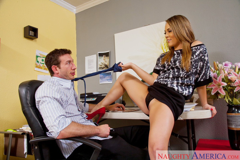 Naughty Office - Kristina Rose &
