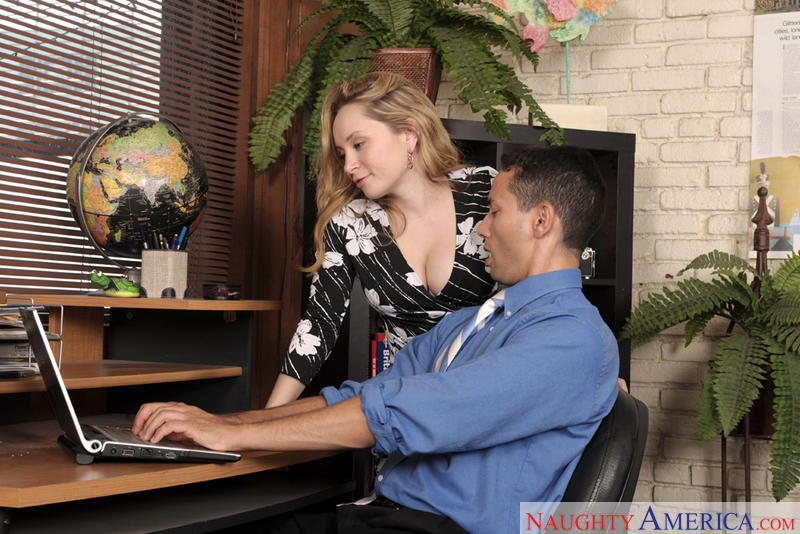 Naughty Office - Aiden Starr & G
