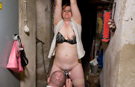 Cheating Wife punished In The Ba