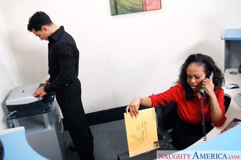 Naughty Office - Lacey DuValle &