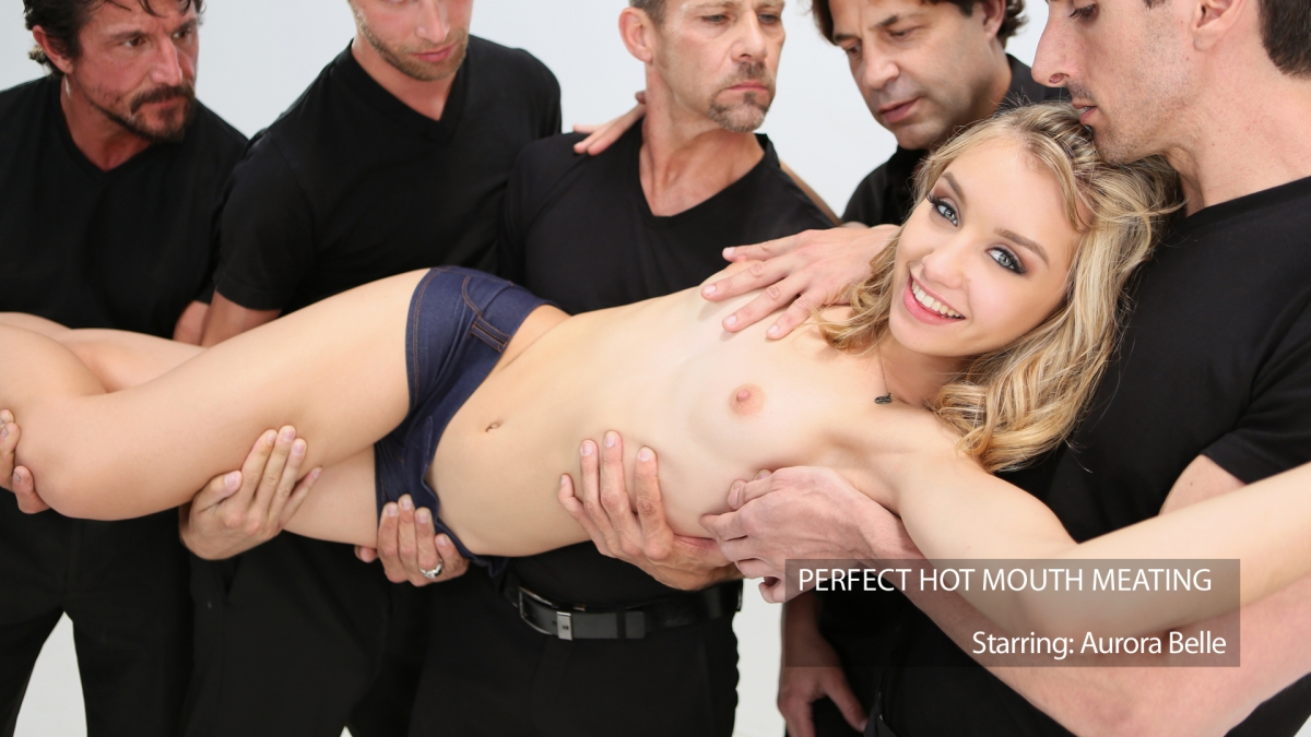 Meat Meeting In A Hot Mouth