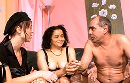 Amateur Threesome Szene 2