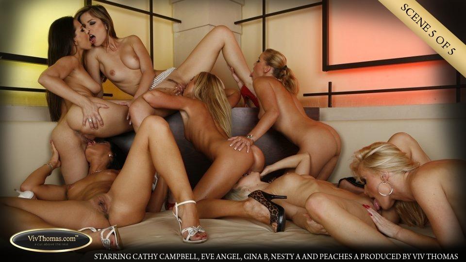 Gina, Peaches, Eve, Nesty, Cathy