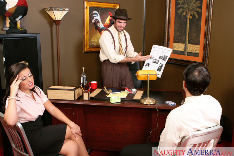 Naughty Office - Aiden Starr & P