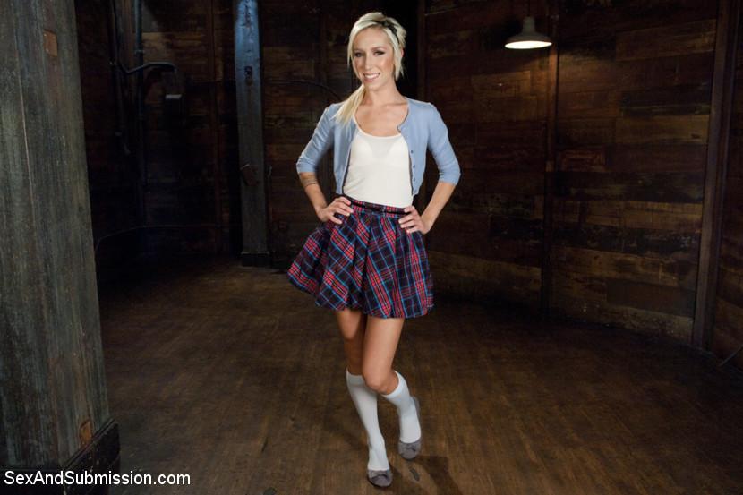 Hot Little Blonde Gets Taken Dow