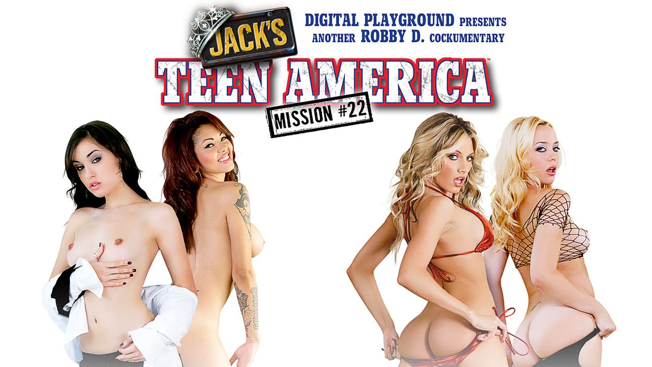 Jack's Teen America 22 Scène 1