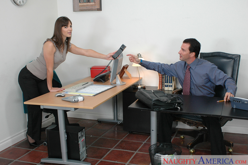 Naughty Office - Bobbi Starr & T