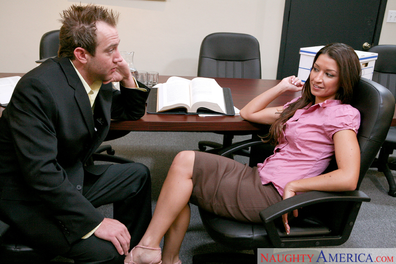Naughty Office - Ann Marie Rios