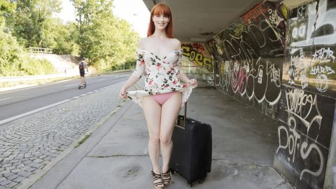 Dirty Hot American Redhead Beaut